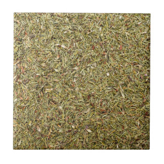 dried thyme texture tile