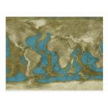 Dried World Map