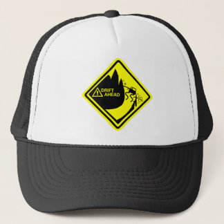 DRIFT AHEAD TRUCKER HAT