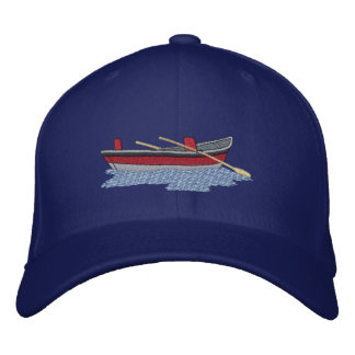 Drift Boat Embroidered Hat