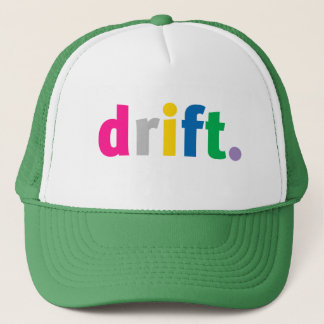 drift hat. trucker hat