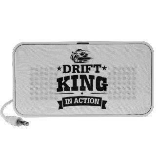 Drift King In Action Notebook Speaker