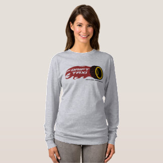 Drift Taxi Ladies Long Sleeve T-Shirt