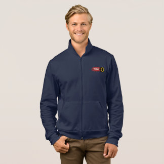 Drift Taxi Men's Zipper Fleece Jacket