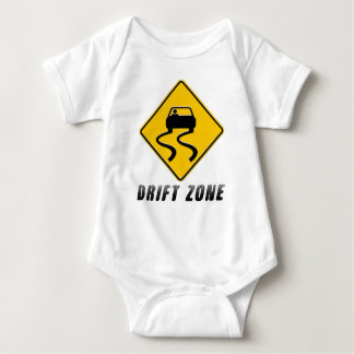 Drift Zone sign Baby Bodysuit