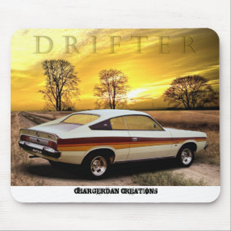 DRIFTER Chrysler Charger mouse pad