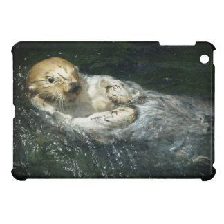 Drifting Away - Sea Otter Cover For The iPad Mini