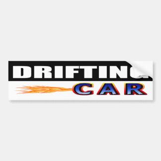 Drifting Car Bumper Sticker