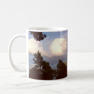 drifts in the clouds coffee mug