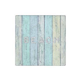 Driftwood Beach Stone Magnets