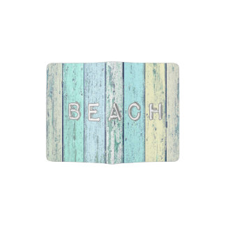 Driftwood Blue Passport Holder