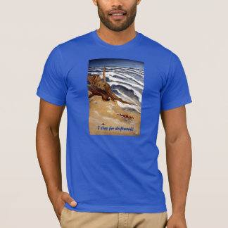 Driftwood by the Beach T-shirt