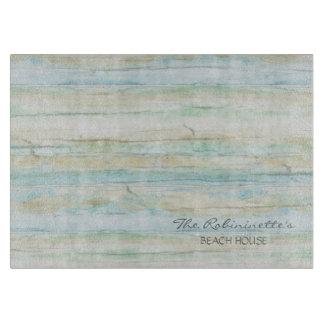 Driftwood Ocean Beach House Coastal Seashore Cutting Board