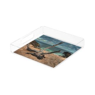 Driftwood on a Beach Perfume Tray