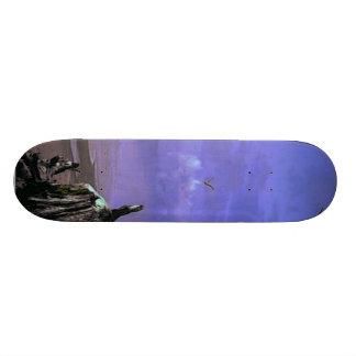 Driftwood on Beach Custom Skate Board