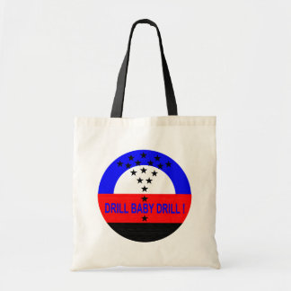 DRILL BABY DRILL !  TOTE_small Tote Bag