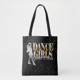 Drill Dance Team Sparkle Tote Bag