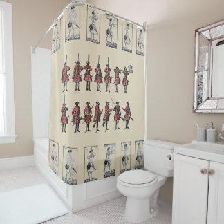 Drill Manual Shower Curtain