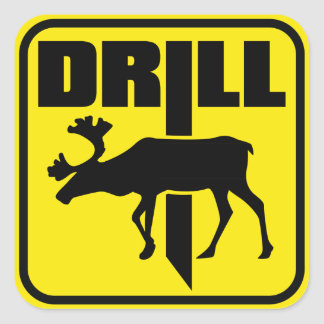 DRILL SQUARE STICKER