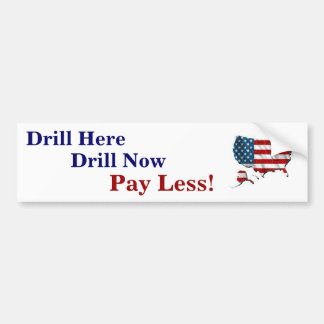 Drill USA Bumper Sticker