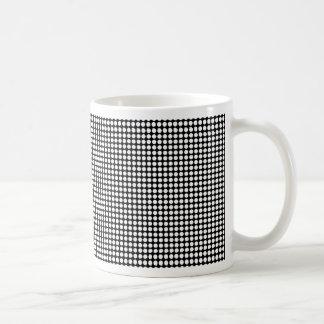 Drilled Plate Coffee Mug