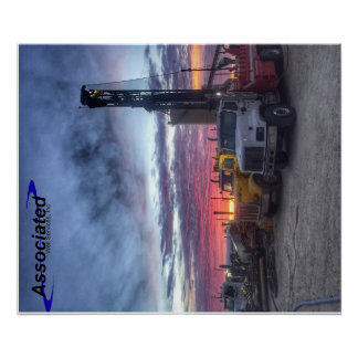 Drilling Rigs Poster