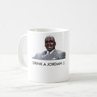 Drink a jordan coffee mug