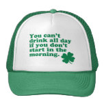Drink All Day Shirt Hat