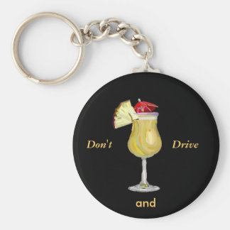 Drink and Drive Keychain