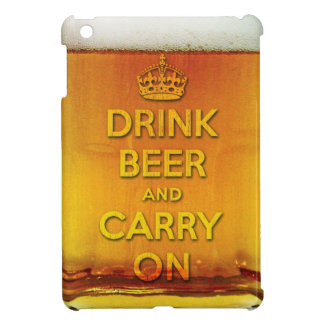 Drink beer and carry on cover for the iPad mini