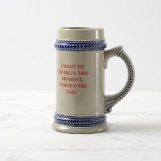 DRINK BEER STEIN
