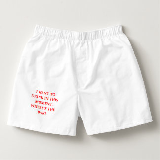 DRINK BOXERS