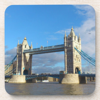 Drink Coasters set of six. Tower Bridge London.