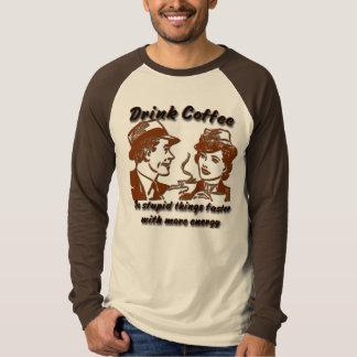 Drink Coffee Baseball T-shirt