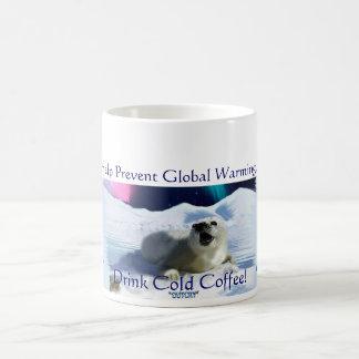 """DRINK COLD COFFEE!"" Mugs"