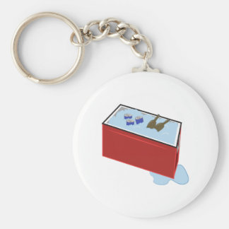 Drink Cooler Keychain