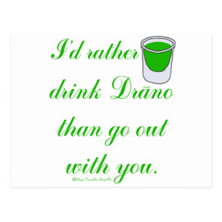 Drink Drano Postcard