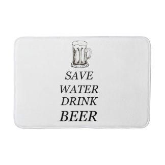 Drink Food Beer Bath Mat