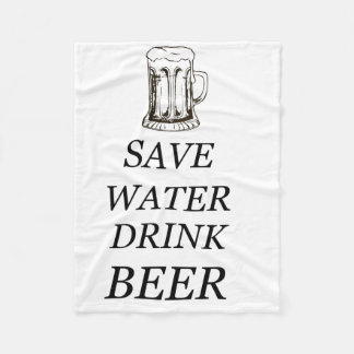 Drink Food Beer Fleece Blanket