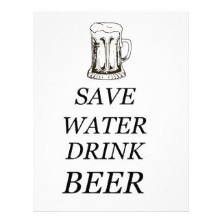 Drink Food Beer Letterhead