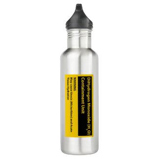 Drink Hard; Live Dangerously 710 Ml Water Bottle
