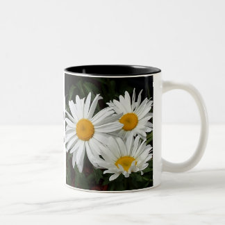 """Drink in the sights today"" floral mug"