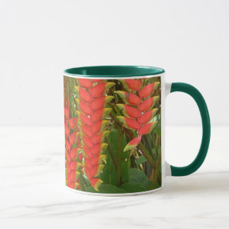 Drink in the tropics coffee and tea cup