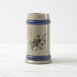 Drink like a Fish II Coffee Mugs