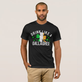 Drink Like A Gallagher St. Patrick's Day Shirt