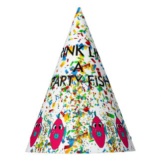 DRINK LIKE A PARTY FISH PARTY HAT