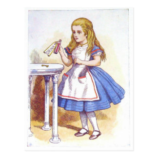 Drink Me, Alice! Postcard