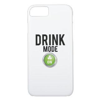 Drink Mode St. Patrick's Day Shamrocks iPhone 8/7 Case