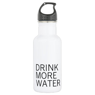 Drink More Water | Simple Minimalist