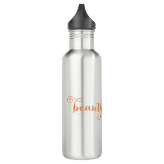 Drink More Water with Beauty in the Mess 710 Ml Water Bottle